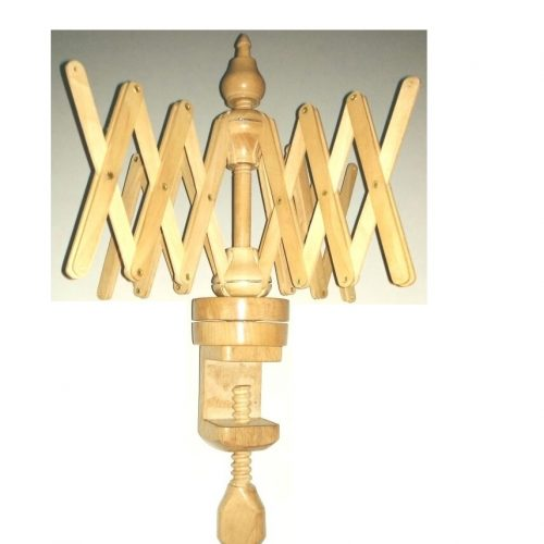 India USA Europe Best Selling Umbrella Shaped Wooden 24″ Swift Yarn Winder yarn swift