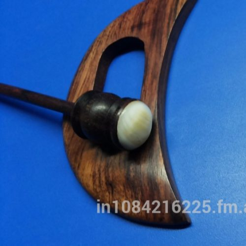 Wood Shawl Pin – D shape hottest accessory hair pin