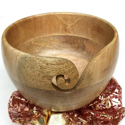 Wood Yarn Bowl USA TOP rank knitters best choice most sold yarn bowl